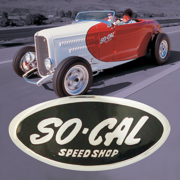 So-Cal Speed Shop Roadster with Custom Emblem
