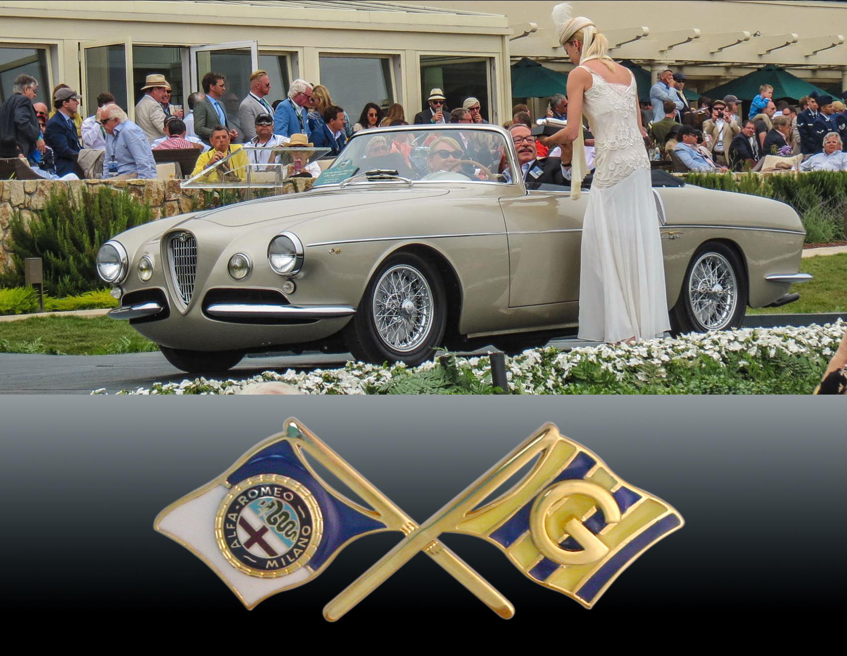 Alfa Ghia Pebble beach award